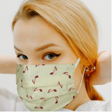 [20 PCS] - 2-Layer Reusable Cotton Face Mask - Colors